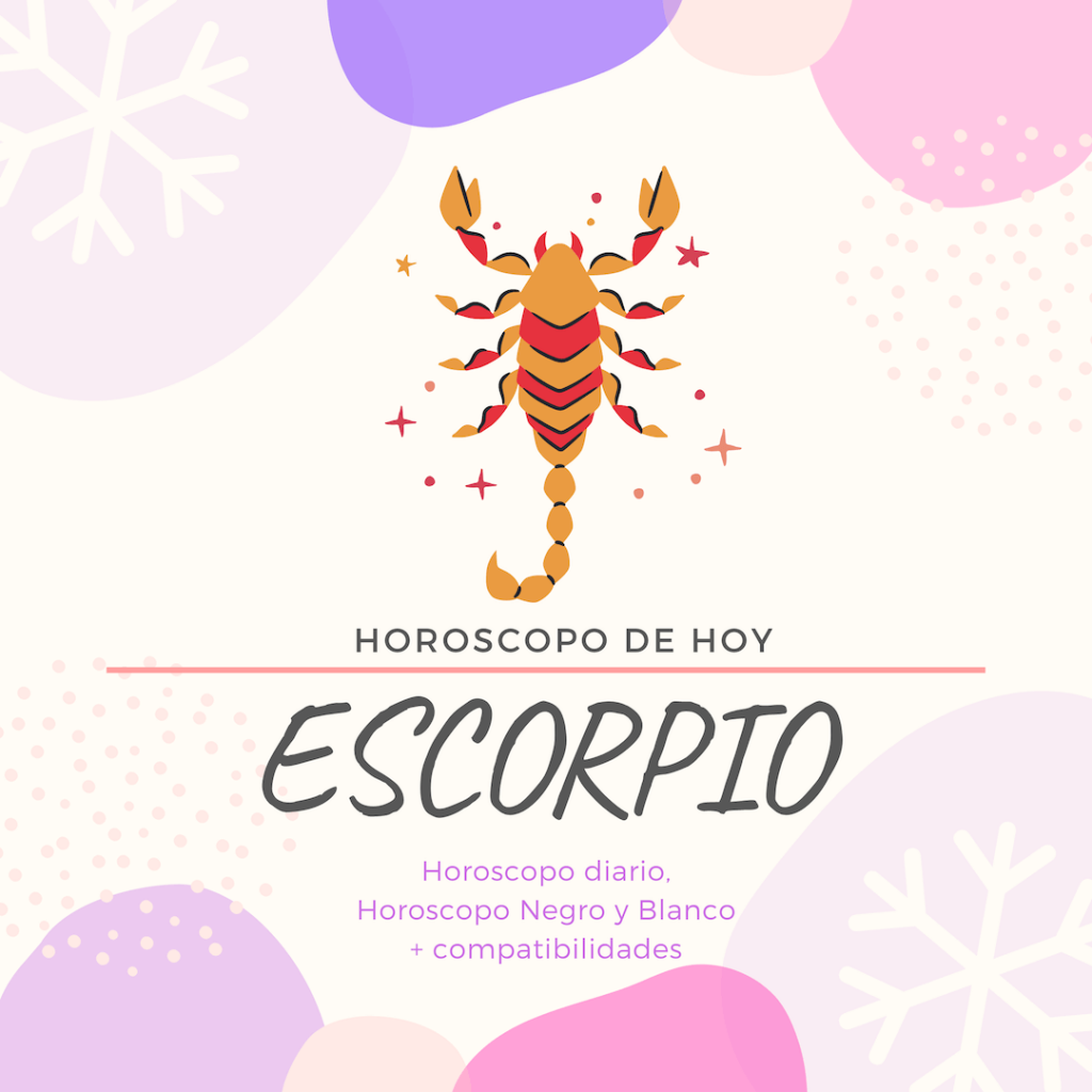 horoscopo diario gratis de hoy escorpio
